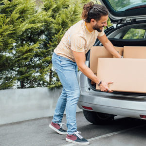 Three Tips for Packing Your Car on Moving Day